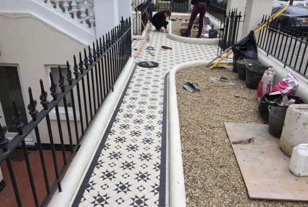 Private house Holland Park, London - Mosaic restoration