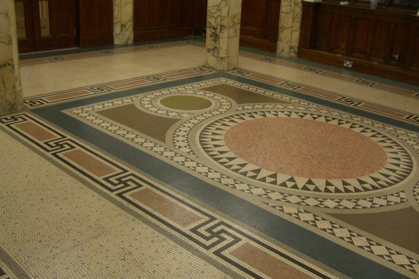 Royal-Institute-Chartered-Surveyors-HQ-London-2009---Mosaic-Restoration