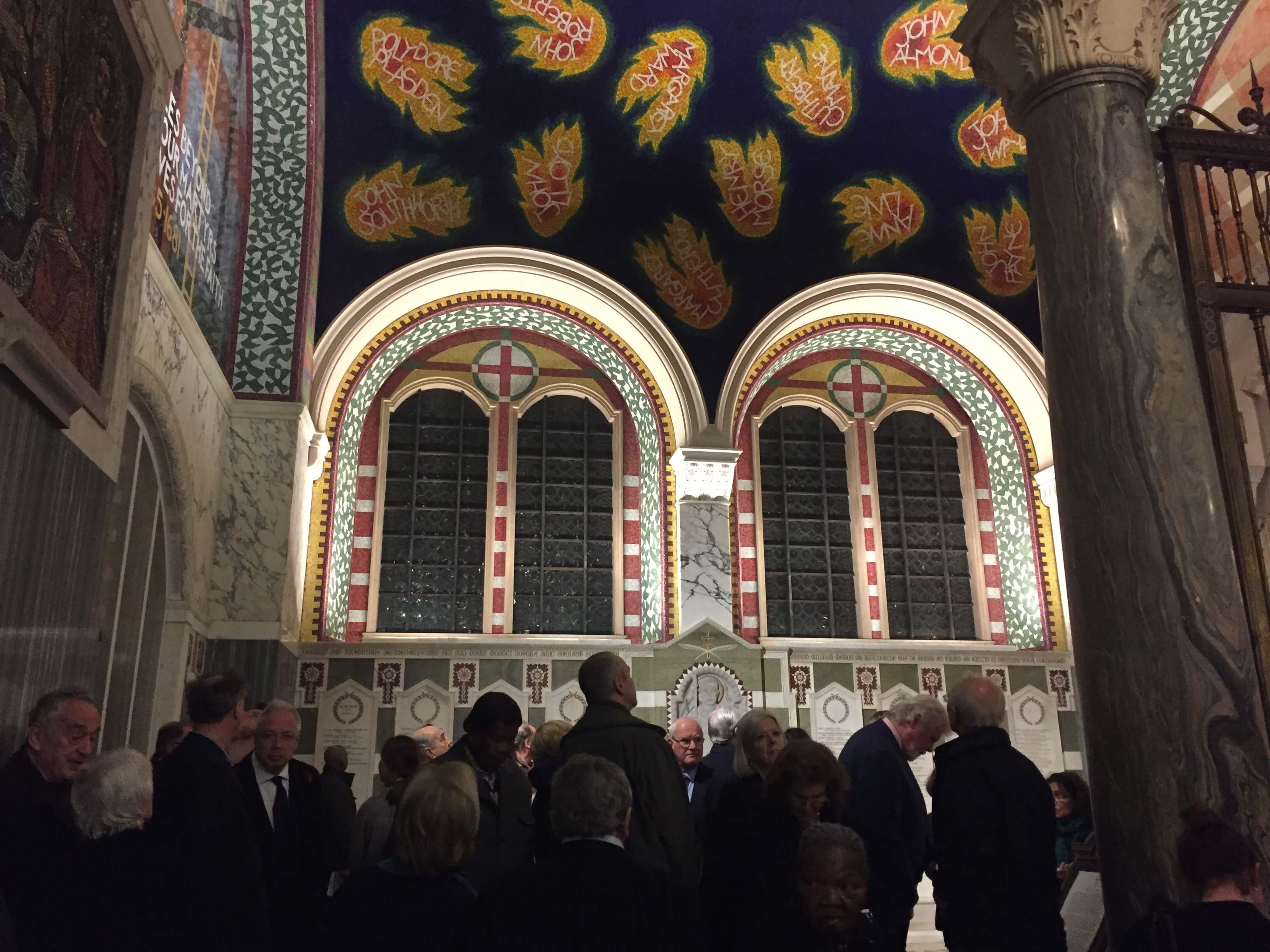 Westminster Cathedral, London - Gallery Photos - Mosaic Restoration UK
