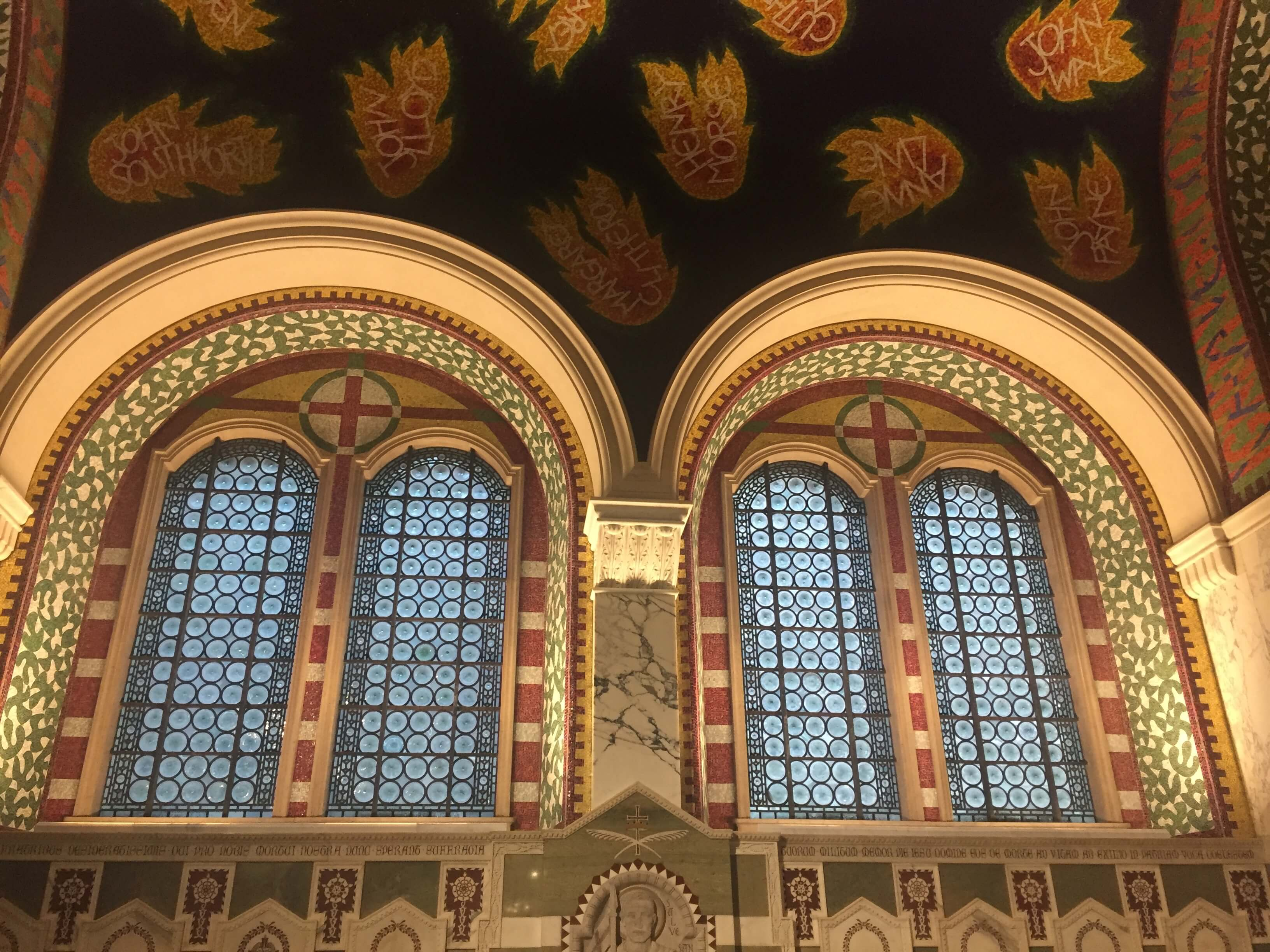 Westminster Cathedral, London - Mosaic Restoration Project - Historic