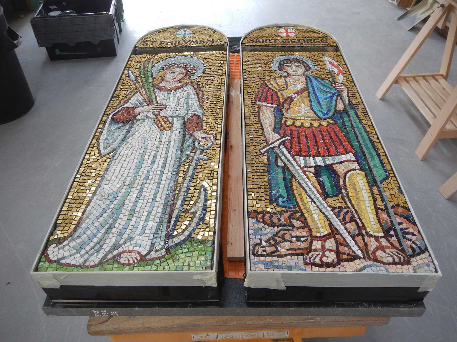 father-hudson-society-mosaic-restoration
