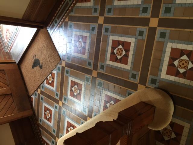 Victorian floor repair
