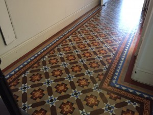Central London Architectural Office, Victorian floor restoration project 2