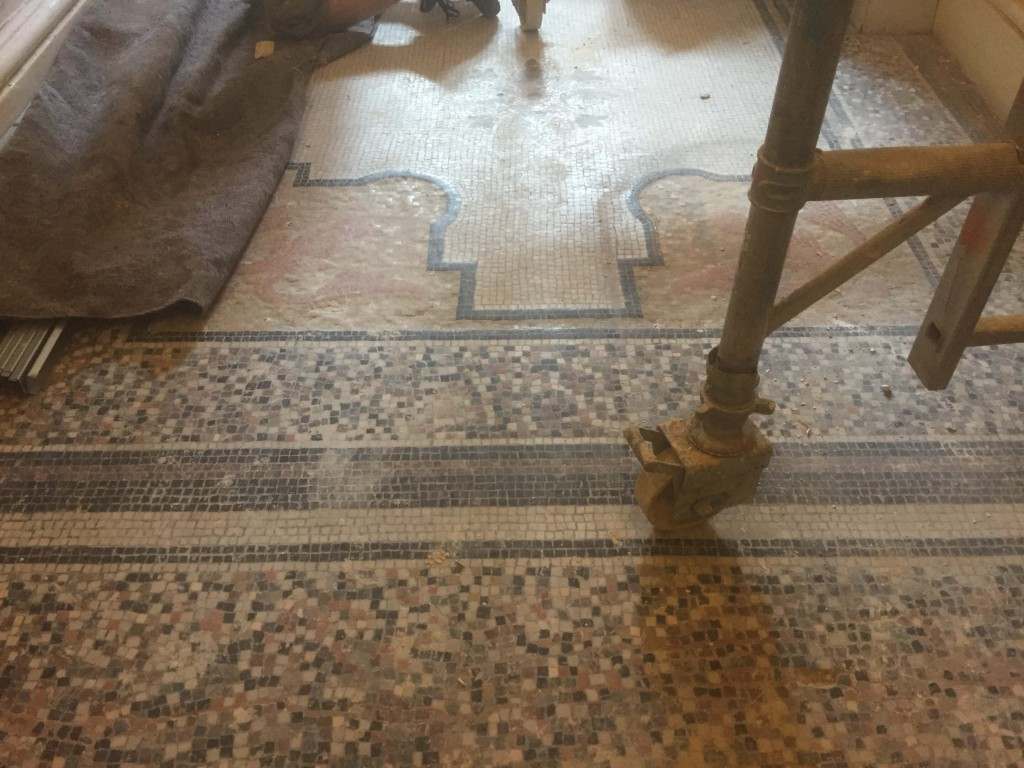 Kensington Court Place, London - Mosaic Restoration project