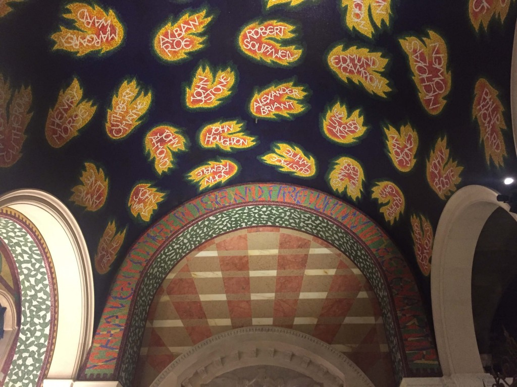 St Georges Chapel, Westminster Cathedral, London - Mosaic Restoration