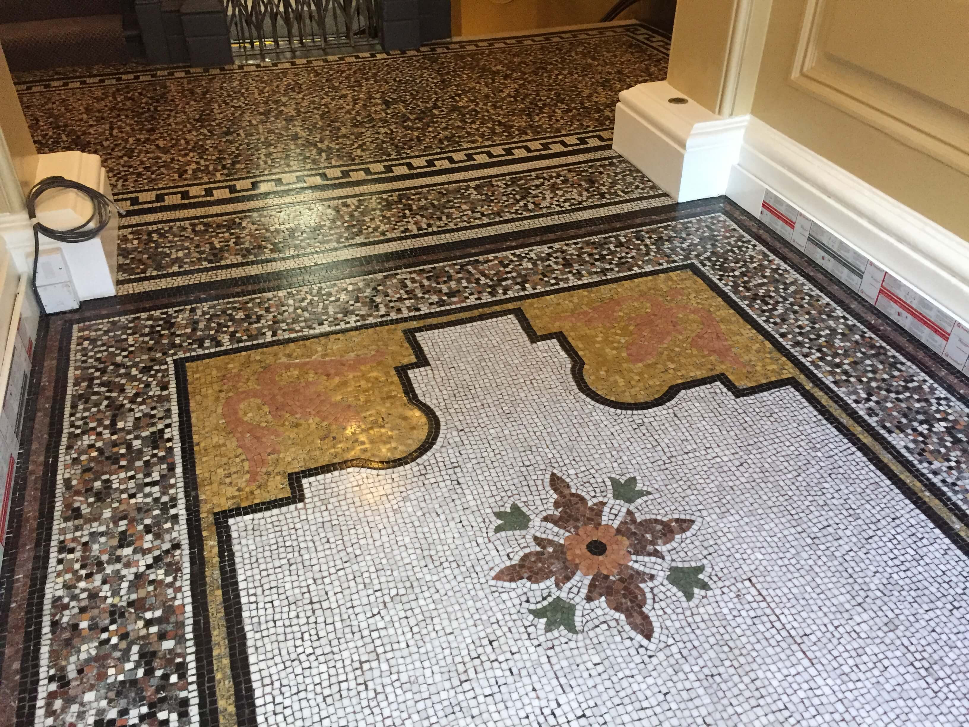 Kensington Court Place, London - Mosaic Restoration