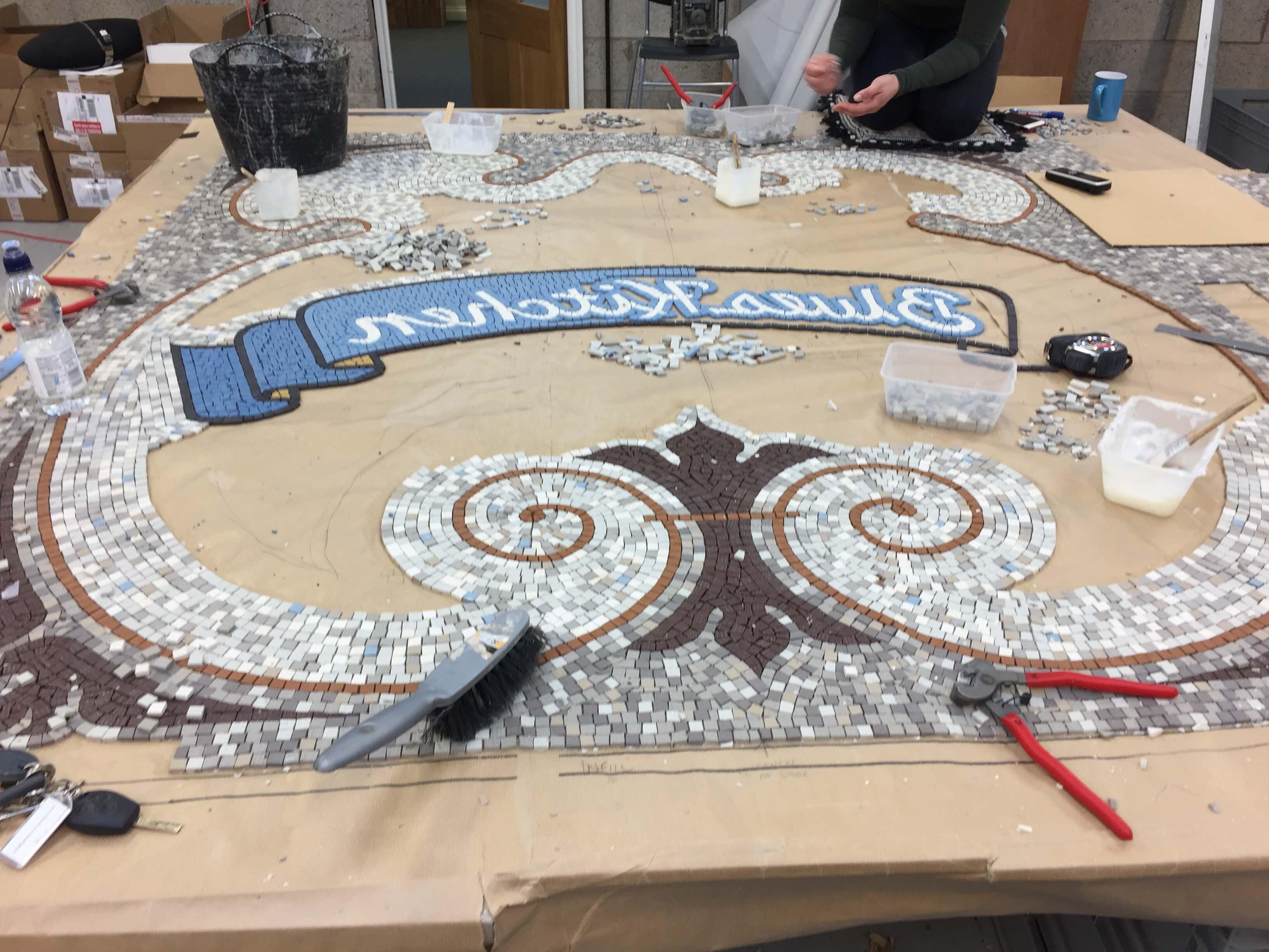 Blues Kitchen, Camden and Shoreditch, London – Mosaic Restoration