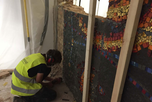 Manchester-University-Schuster-Mosaic-Mural-removal-and-reinstatement