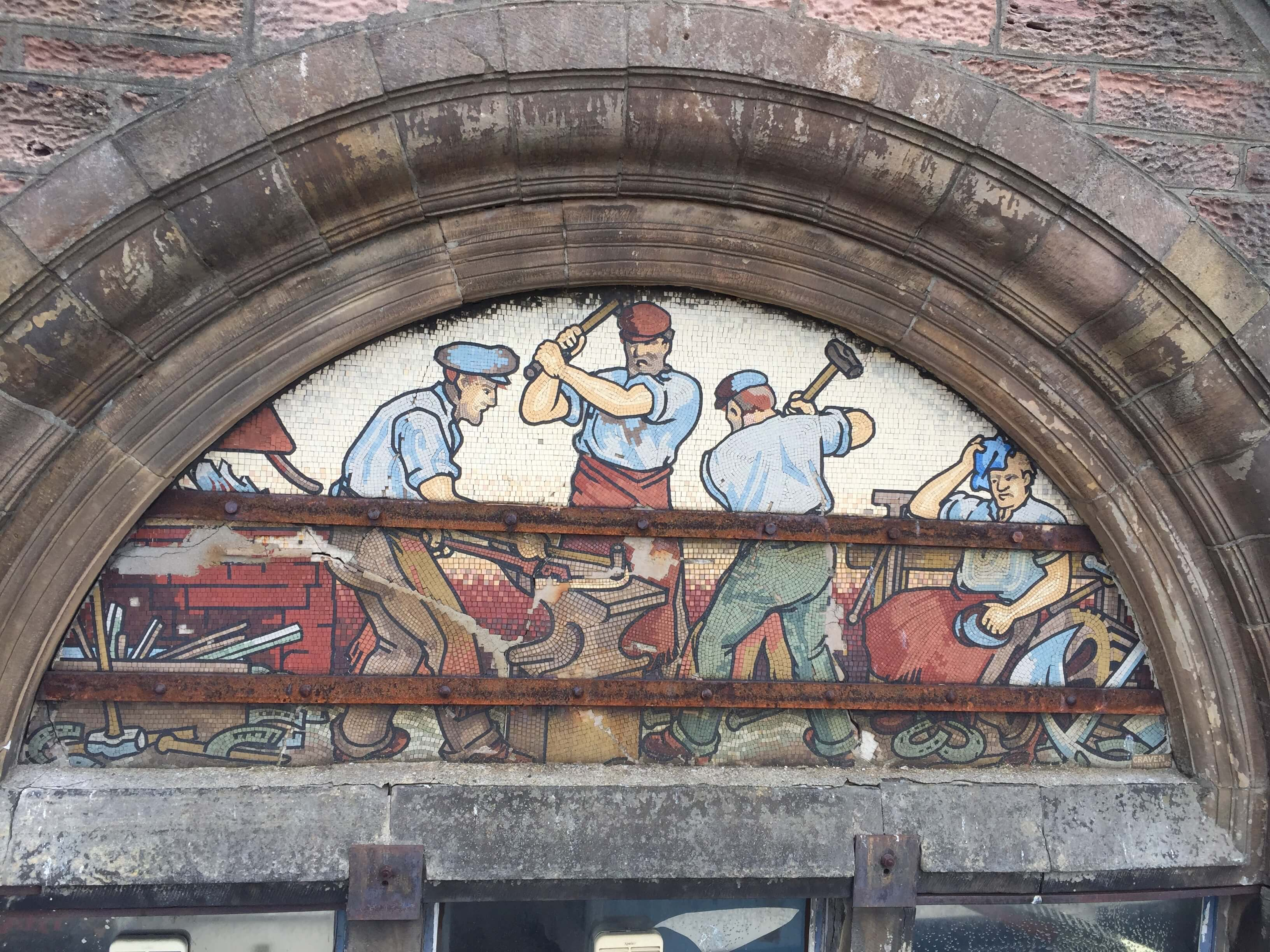 Inverness Mosaic Restoration Project Featured On BBC News