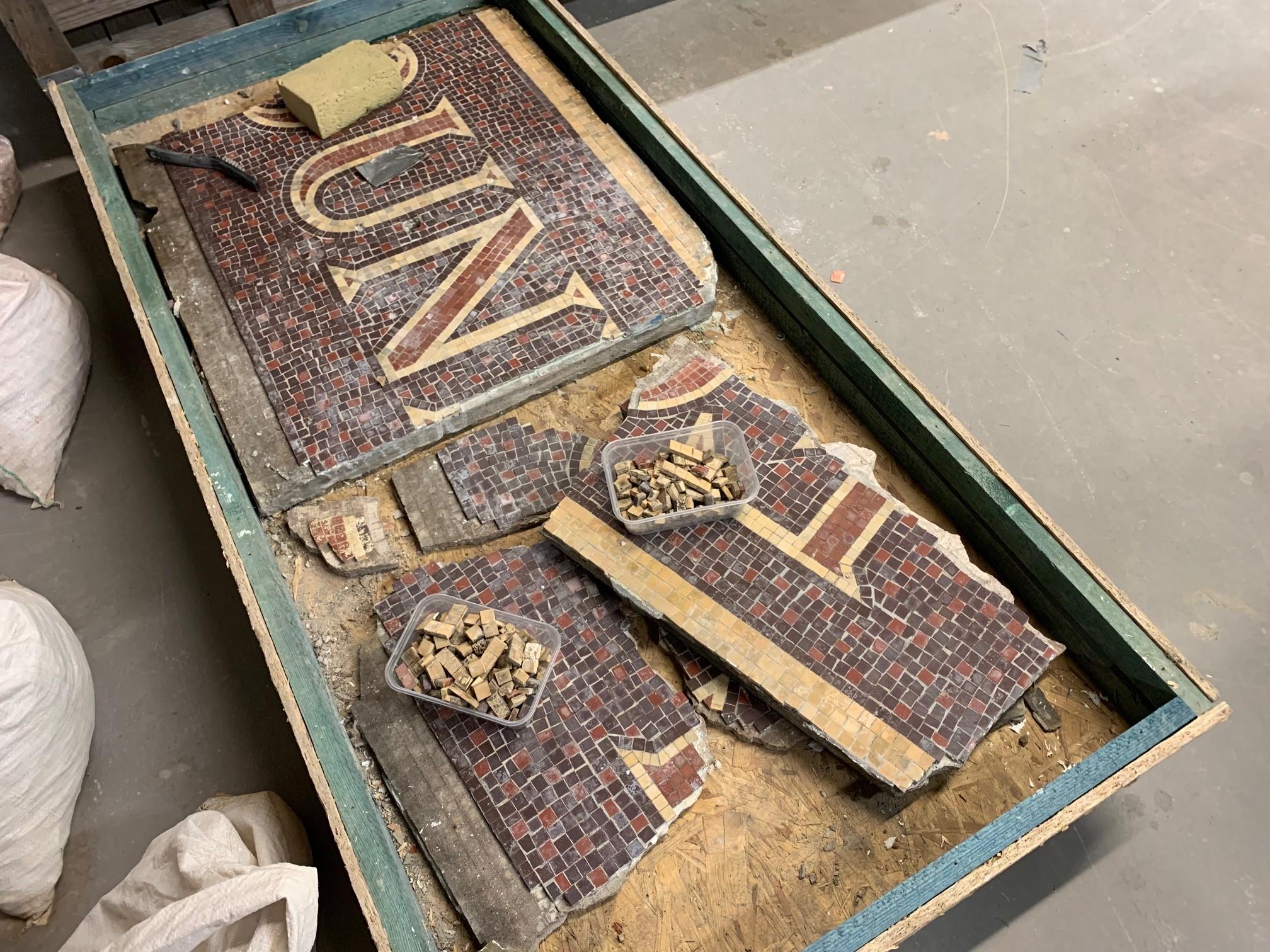 Mosaic Restoration Inverness 2019 Projects