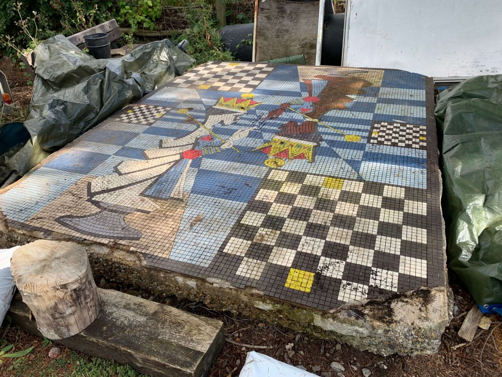 Crawley Memorial Park Mosaic Restoration