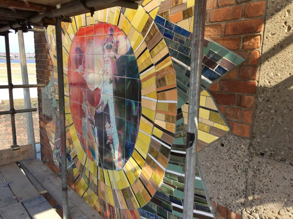 Liverpool Biennial - The Invisible Wind Factory Mosaic Project