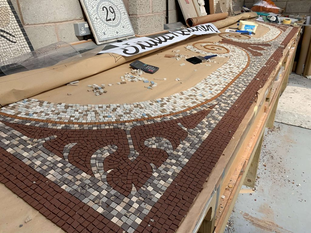 New projects for 2020 - Mosaic Restoration