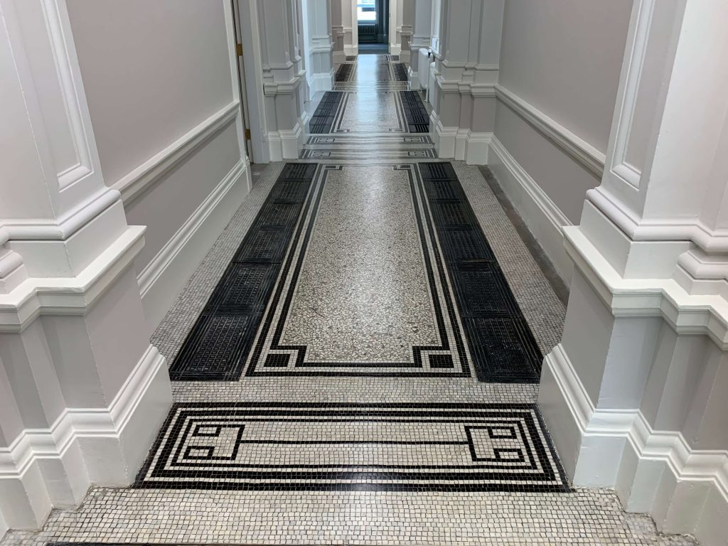 Mosaic Restoration - The Old Admiralty Building, London
