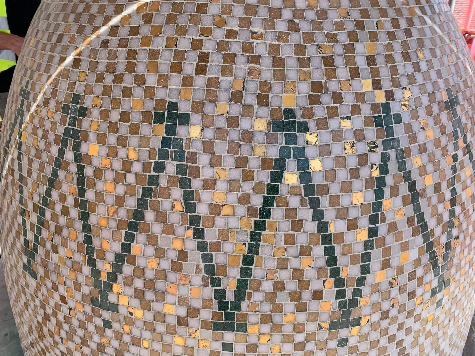 Mayflower Memorial Mosaic Southampton