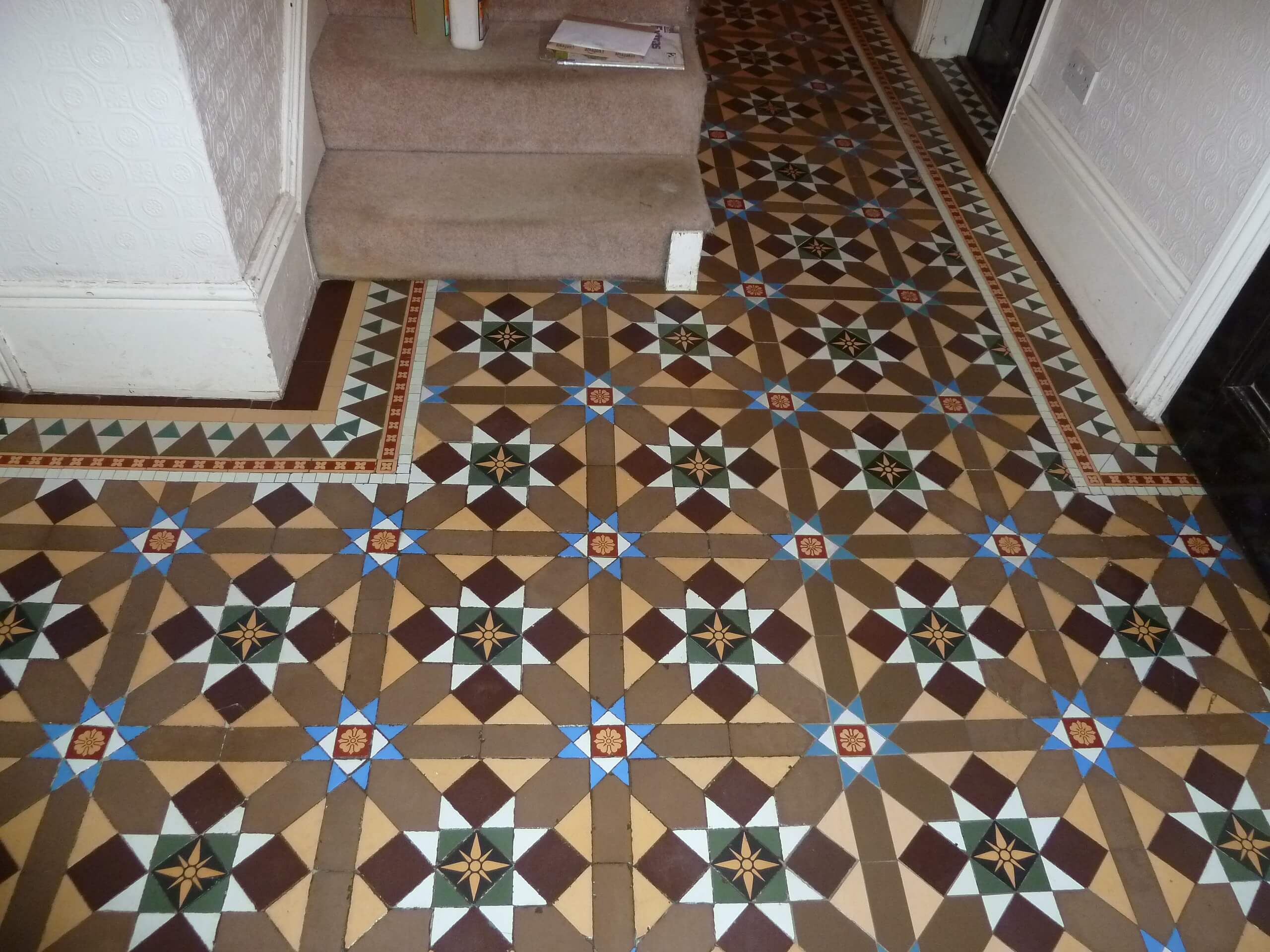 conserving and restoring original minton mosaic floors