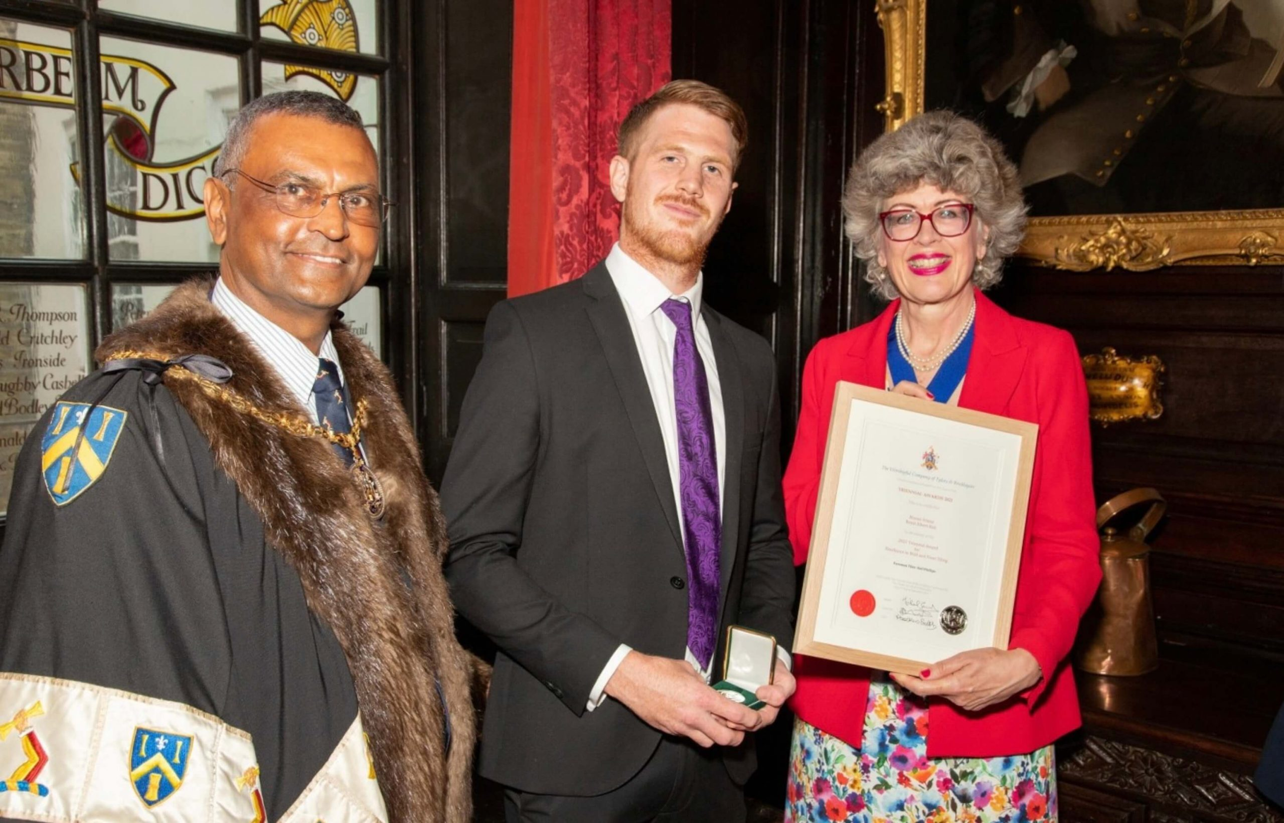 Mosaic Restoration was awarded the 2021 Triennial Award for 'Excellence in Floor and Wall Tiling'